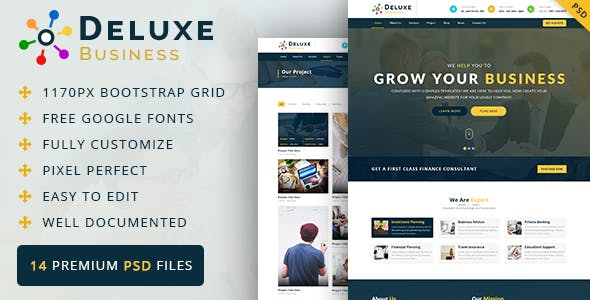 Pixelated PSD Files and Photoshop Templates from ThemeForest (Page 38)