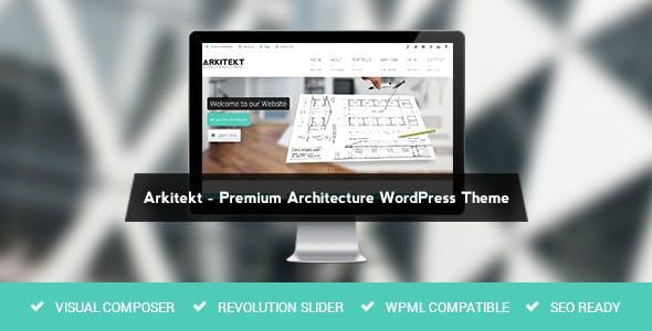 Arkitekt - Architecture WordPress Theme
