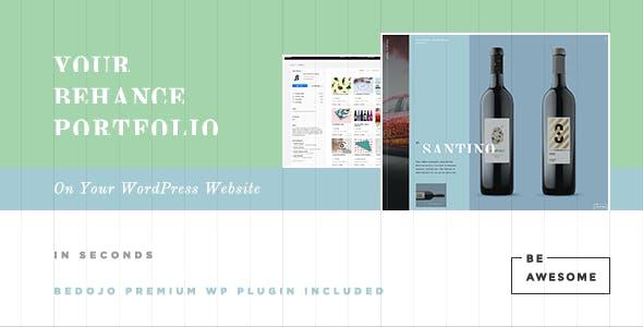 BeAwesome - Creative Behance Portfolio WP Theme