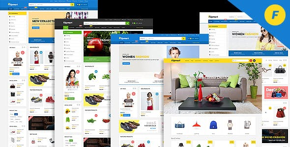 Flipmart Html Online Store Template From Themeforest