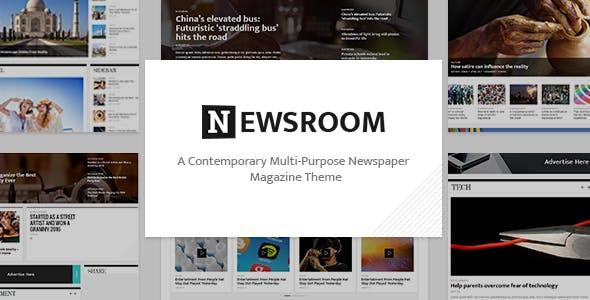 Classic Newspaper Templates From Themeforest