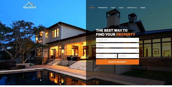 for sale by owner templates from themeforest