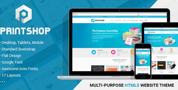 Brochure Template Design Website Templates from ThemeForest