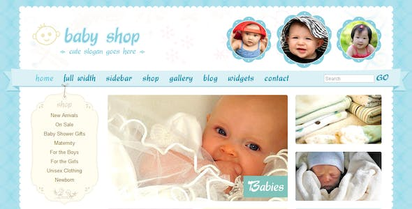 cute website templates from themeforest