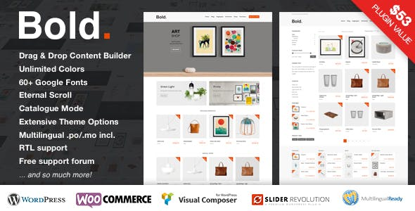 Poster Templates from ThemeForest