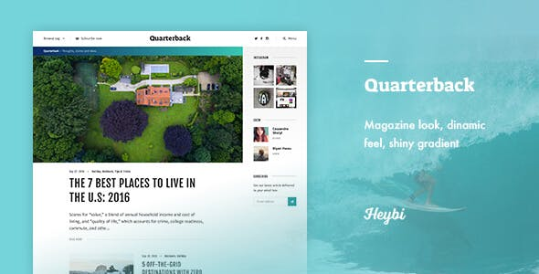 Dynamic Blogger Templates From Themeforest