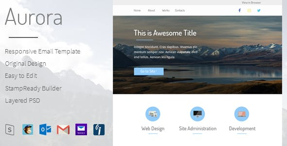 event newsletter templates from themeforest