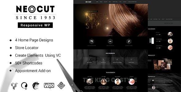 Neo Salon | Hair Salon Theme