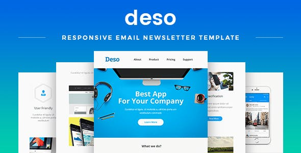 free psd email templates from themeforest