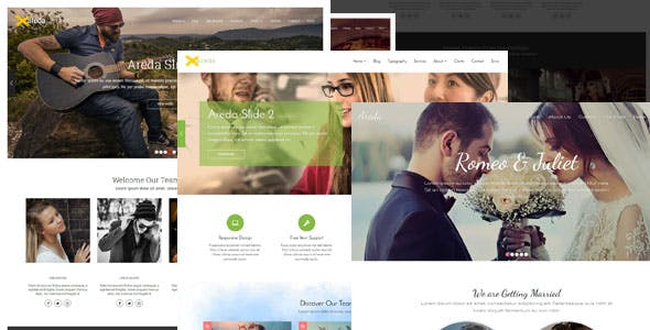 Business blogger templates from themeforest areda responsive multipurpose blogger template cheaphphosting Images