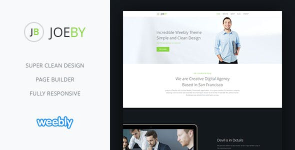 Joeby | Responsive Multipurpose Weebly CMS Theme nulled theme download