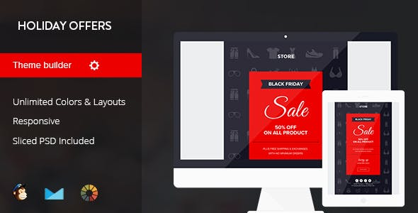 Black Friday Email Templates From Themeforest