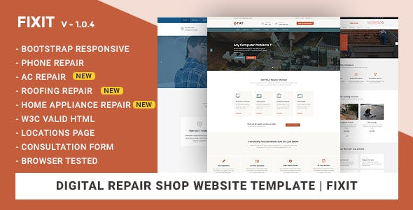 metal roofing templates from themeforest