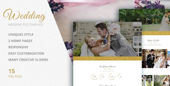 Wedding Videography Website Templates From ThemeForest