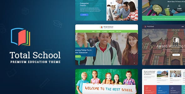 Middle School Templates from ThemeForest