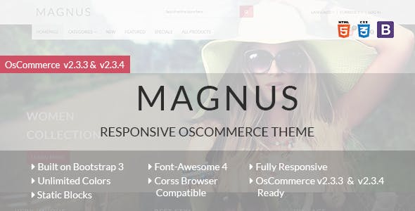 Magnus - Responsive osCommerce Theme nulled theme download