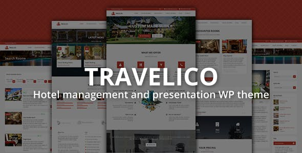 Book Presentation Website Templates From ThemeForest - Best of hotel presentation template ideas