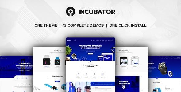 Incubator - WordPress Startup Business Theme