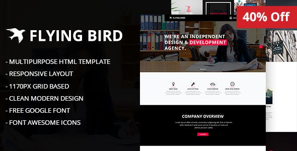 fly professional corporate html website templates