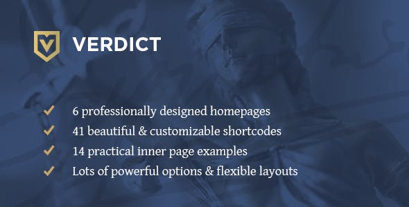 Verdict - Lawyers WordPress Theme
