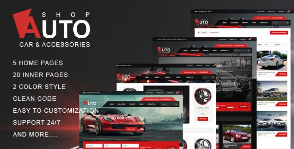 Car Audio Templates from ThemeForest