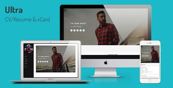 Horizontal Scrolling Templates from ThemeForest