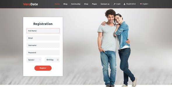 dating sites psd