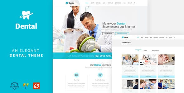Dental Health - Dentist Medical, Dental Surgeon Theme