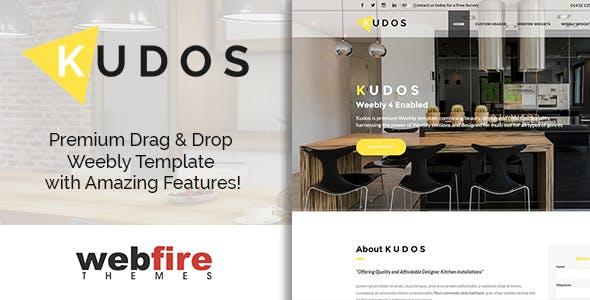 Kudos - Weebly Template nulled theme download