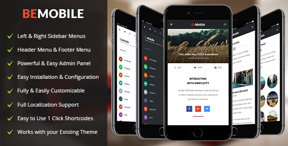 2019's Best Selling Mobile Friendly WordPress Themes