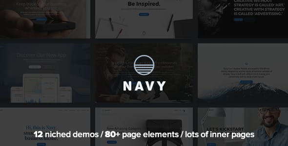 Navy - MultiPurpose Multi-Concept Business WordPress Theme