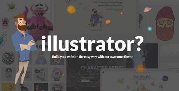 Ilrator Designer And Artist Portfolio Theme Creative