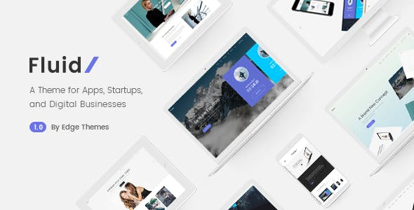 Fluid - Theme for Apps, Startups and Digital Businesses