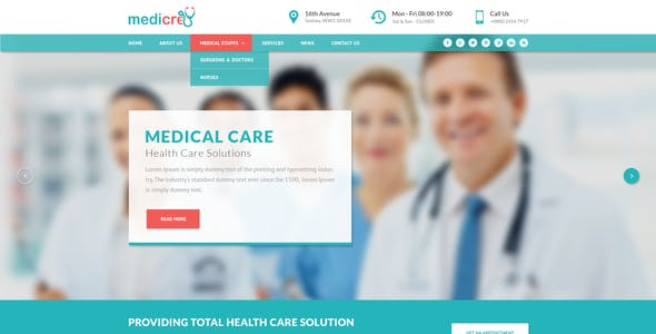 doctor appointment template templates from themeforest