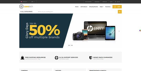 Online Hardware Shop Phone WordPress eCommerce Theme