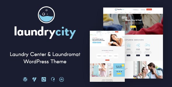 Laundry City | Dry Cleaning & Laundry Services WordPress Theme