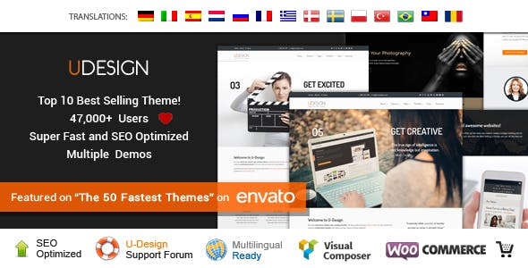 uDesign - Responsive WordPress Theme nulled theme download
