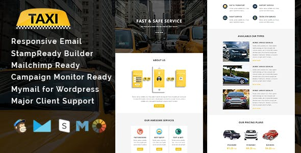 Auto Car Dealer Email Template from ThemeForest