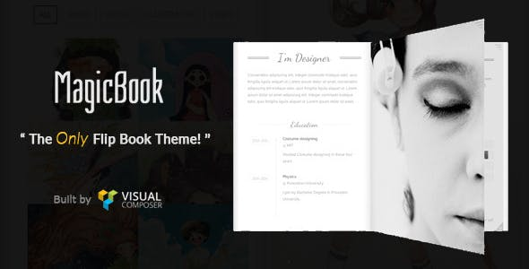 Flip Book Templates From ThemeForest