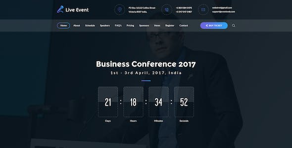 Event Schedule Psd Files And Photoshop Templates
