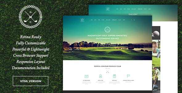 Contest HTML Website Templates From ThemeForest - Photo contest website template