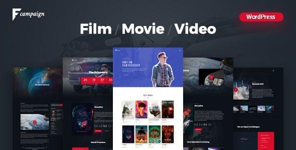 Online TV WordPress Themes from ThemeForest