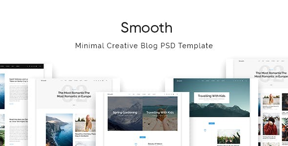 Text templates from themeforest smooth minimal blog psd template maxwellsz