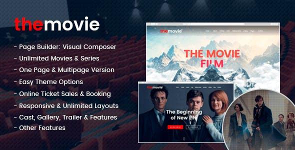 The Movie - Cinema, Film & Series WordPress Theme