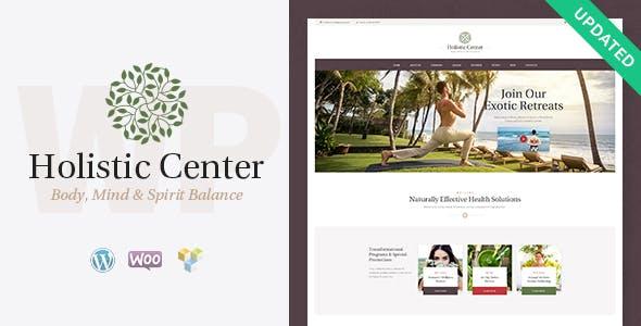 Holistic Center / Wellness and Spa WordPress Theme