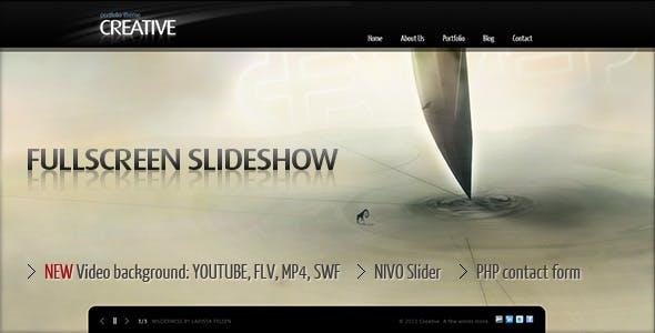 fullscreen slider website templates from themeforest