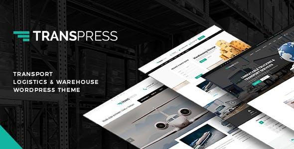 Transpress – Transport, Logistics and Warehouse WordPress Theme