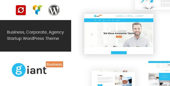 Giant business templates from themeforest giant business multipurpose agency corporate wordpress theme flashek Gallery