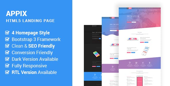 fitness app website templates from themeforest