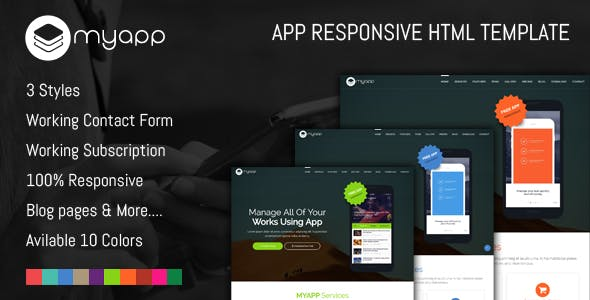 Mobile Application Design Template Templates From ThemeForest - Mobile app design templates